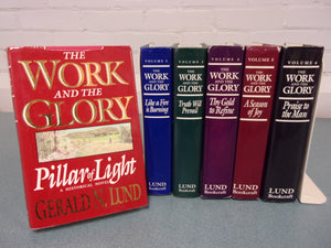 The Work And The Glory Book Set by Gerald Lund - 6 Volumes HC/DJ