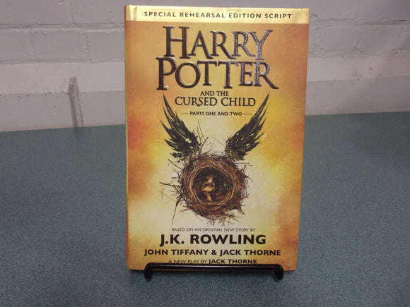 Harry Potter and the Cursed Child: Parts 1 & 2, Special Rehearsal Edition Script (HC/DJ)