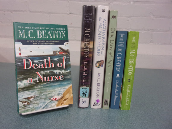 6 M.C. Beaton Books