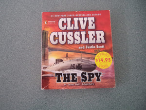 The Spy by Clive Cussler & Justin Scott Audio Book