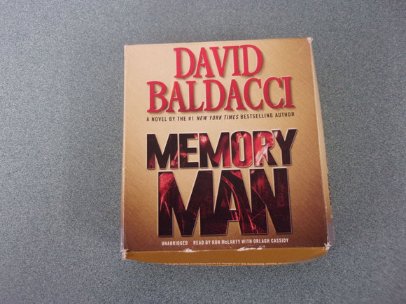 Memory Man by David Baldacci Audio Book