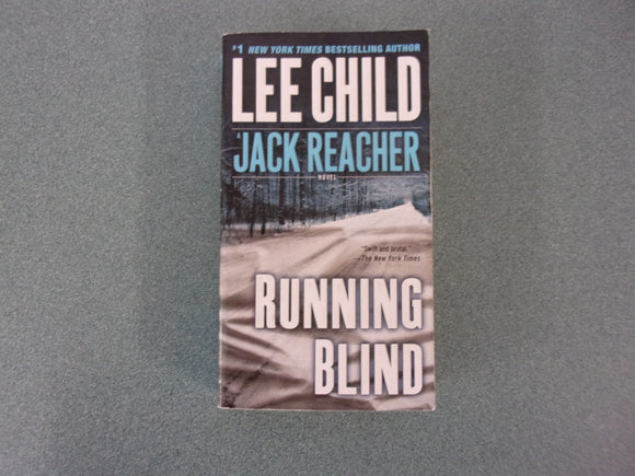Running Blind by Lee Child (Mass Market Paperback)