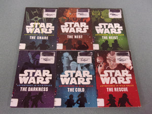 Star Wars: Adventures In Wild Space - 6 Chapter Books From Series (Ex-Library)