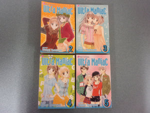 Ultra Maniac Manga Set by Wataru Yoshizuma #2-5 Only