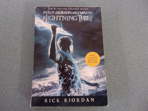 The Lightning Thief: Percy Jackson and the Olympians by Rick Riordan (Paperback)