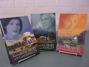 Baxter Family Redemption Series Books 2-4 by Karen Kingsbury (Trade Paperbacks)