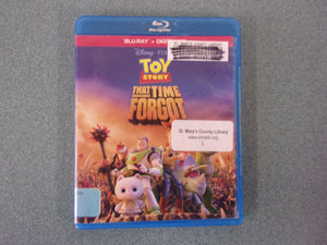 Toy Story That Time Forgot (Blu-ray Disc) Ex-Library