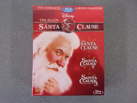 Santa Clause: The Complete 3-Movie Collection (Blu-ray Disc)
