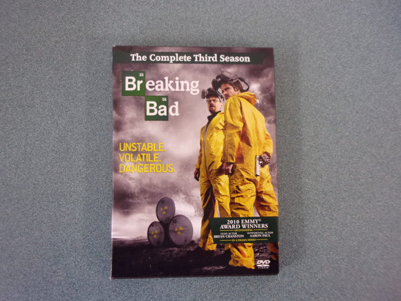 Breaking Bad The Complete Third Season (DVD)