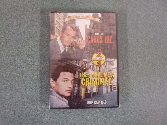 Action Classics: Gangs, Inc., and They Made Me a Criminal (DVD)