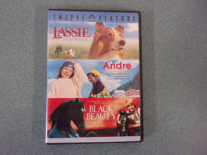 Lassie, Andre, and Black Beauty (DVD)