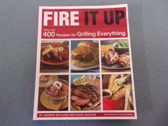 Fire It Up: More Than 400 Recipes for Grilling Everything by Andrew Schloss & David Joachim (Softcover)