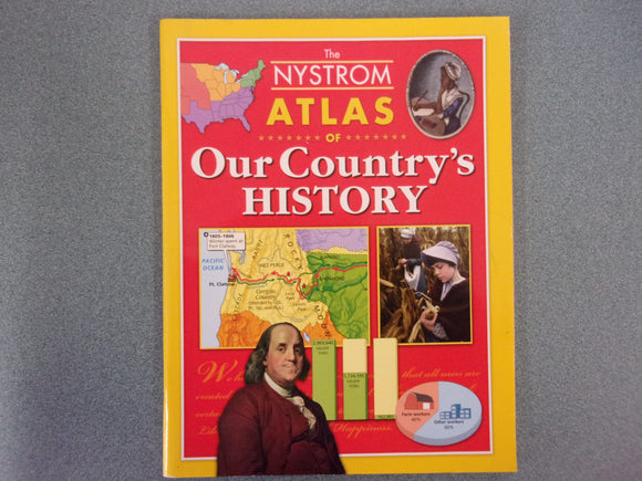 The Nystrom Atlas of Our Country's History (Paperback)