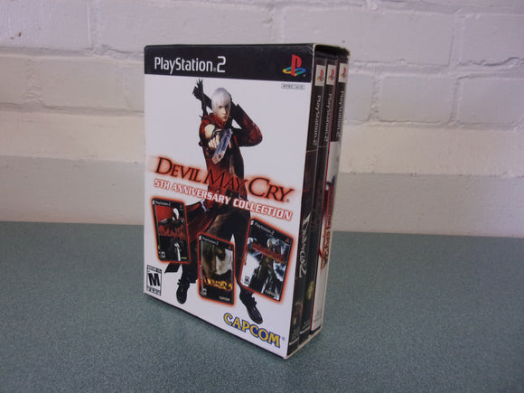 Devil May Cry 5th Anniversary Collection (PlayStation 2)
