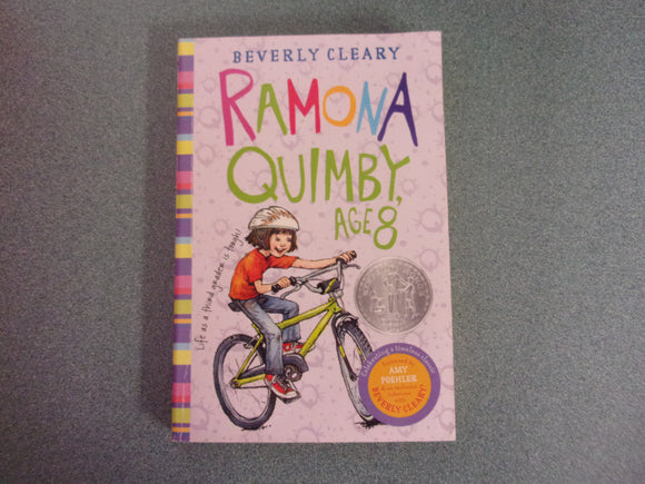 Ramona Quimby, Age 8 by Beverly Cleary (Paperback)