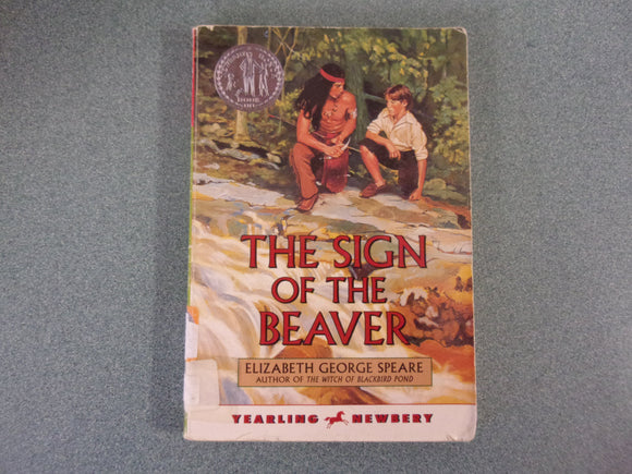 The Sign Of The Beaver by Elizabeth George Speare (Paperback)