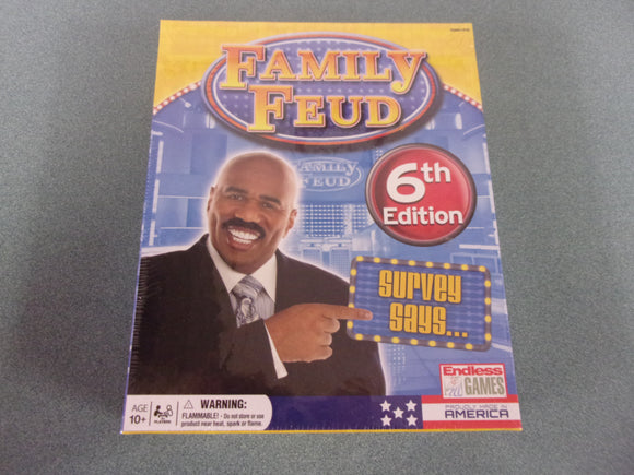 Family Feud 6th Edition Competition - Game Show Home Edition NEW