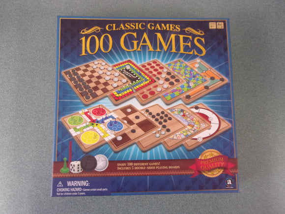 Classic Games: 100 Games (Brand New!)