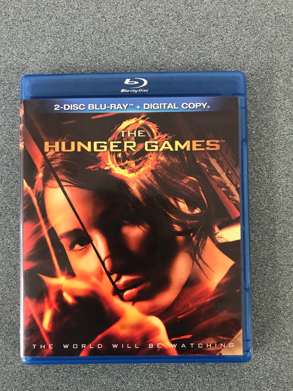 The Hunger Games (Blu-ray Disc) Brand New!