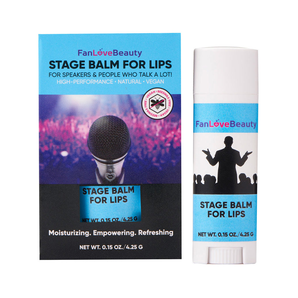 Limited Edition:  Single Untinted Stage Balm for Lips - FanLoveBeauty Empowers Confidence Through Beauty