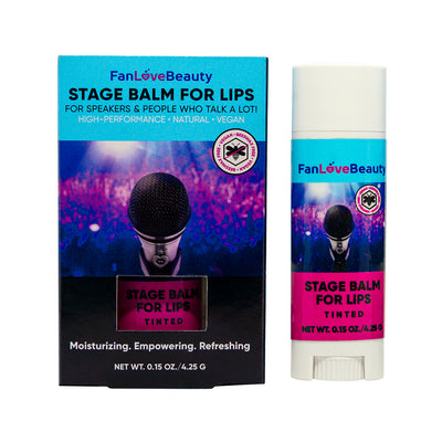 Single Tinted Stage Balm for Lips - FanLoveBeauty Empowers Confidence Through Beauty