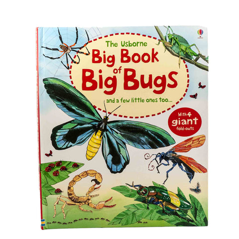 book about big bugs