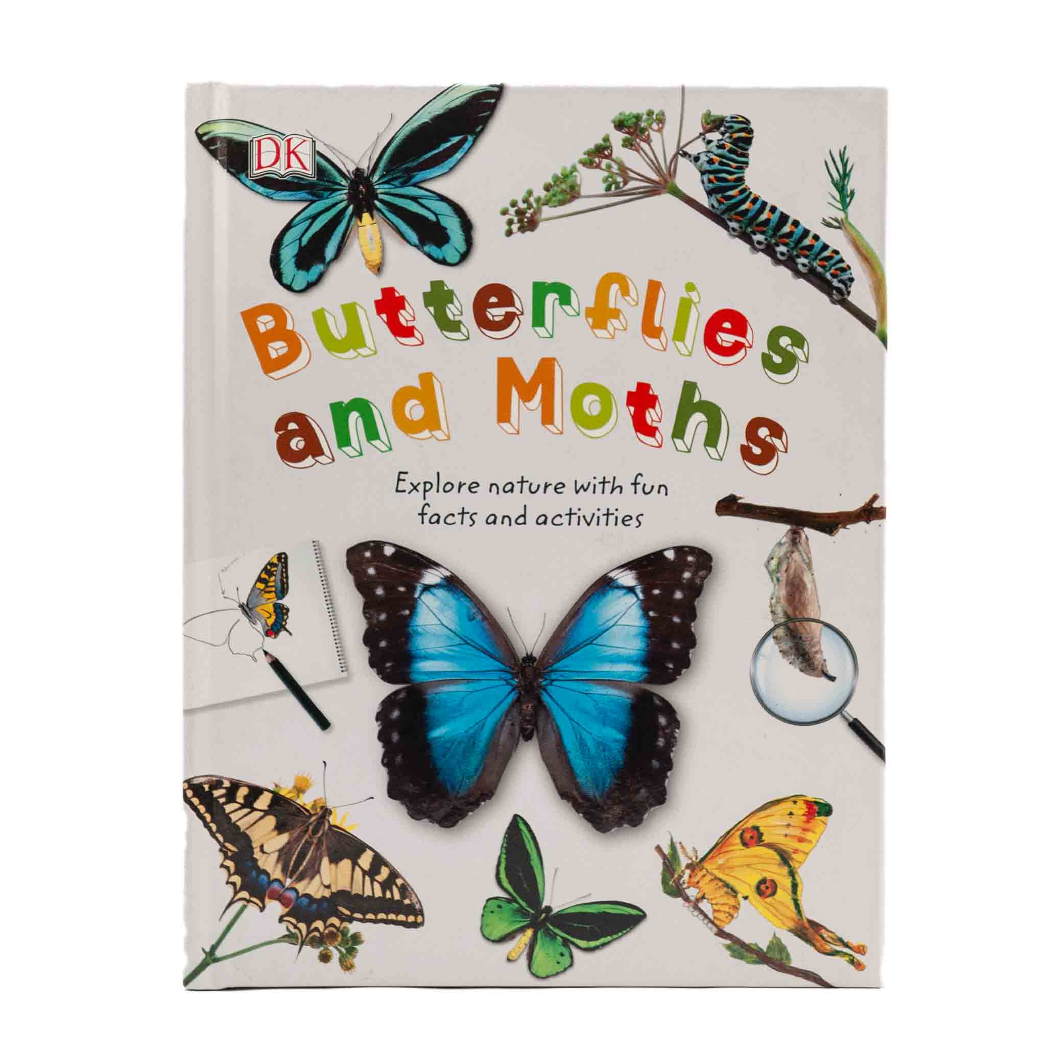 moth and butterfly themed book