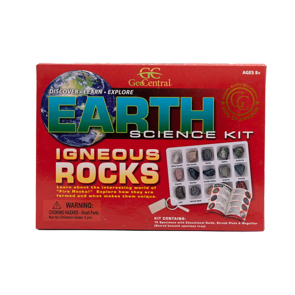 igneous rock science box