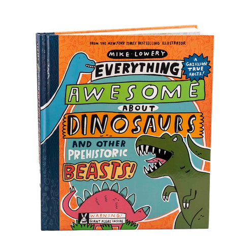 awesome dinosaur book