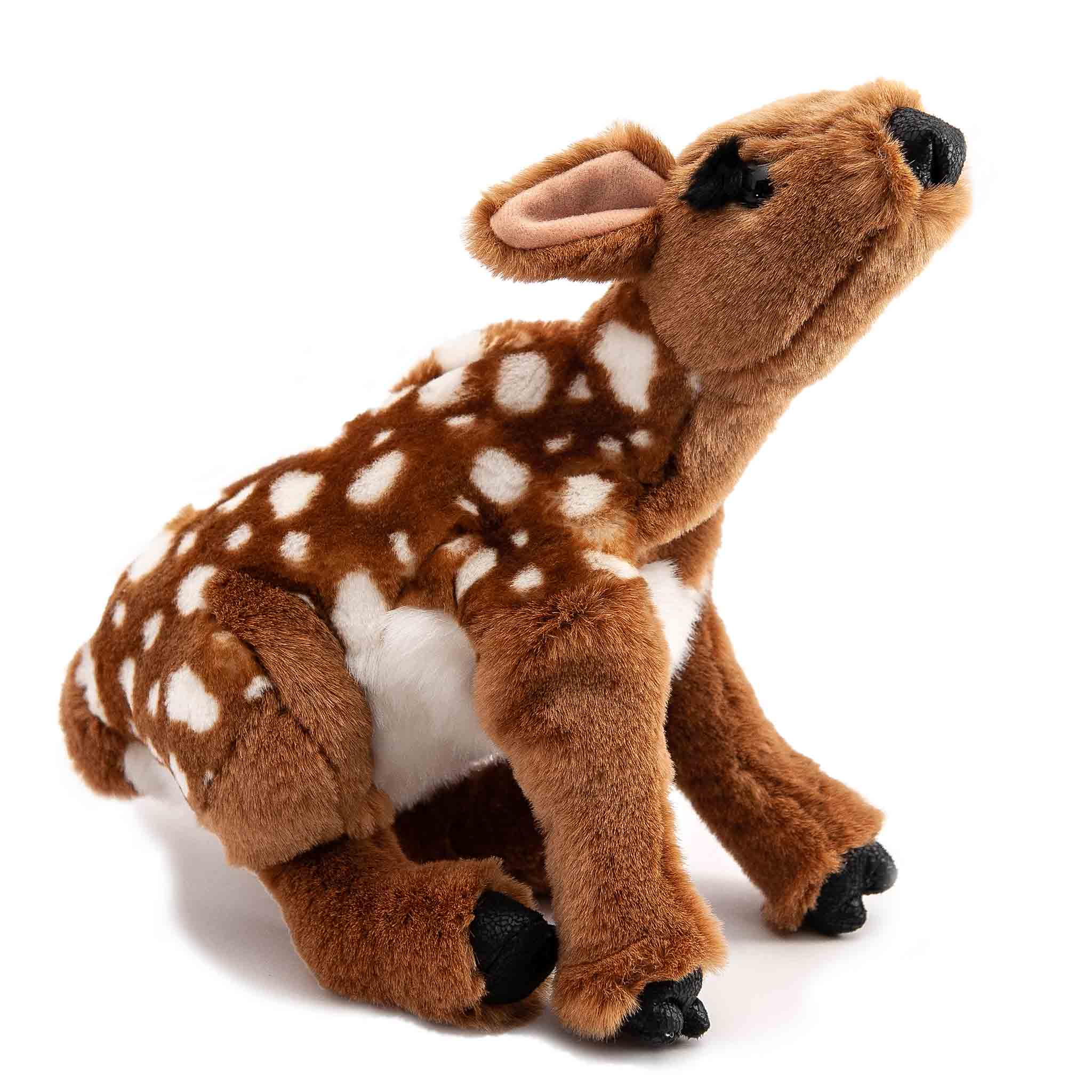 folkmanis fawn puppet with white spots