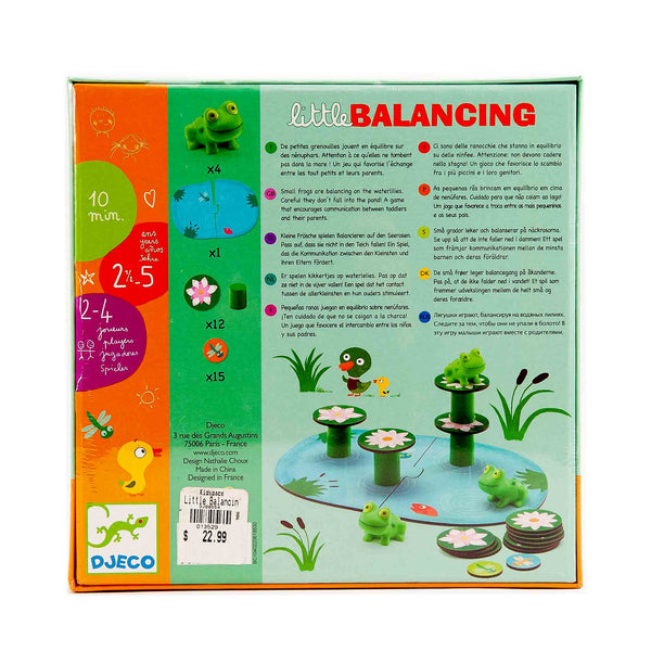 cooperative balancing game by Djeco