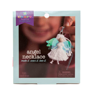 angel necklace craft