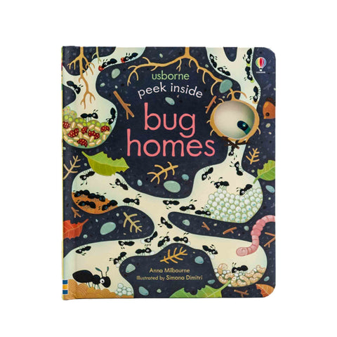bug home themed book