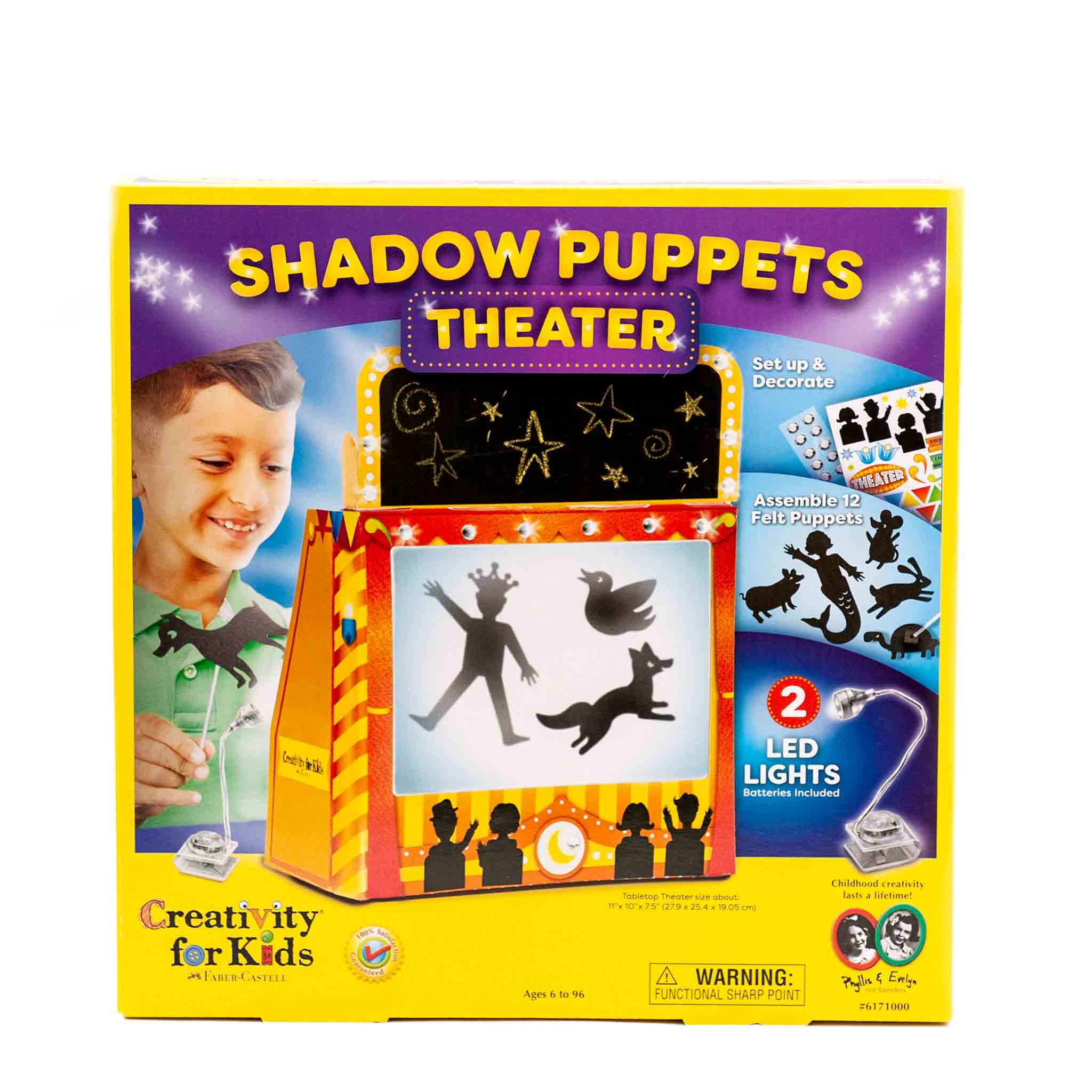 shadow puppet craft kit