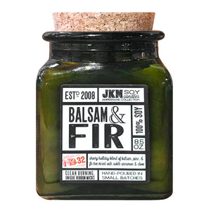 JKM Balsam & Fir Soy Candle - 8.5 oz.