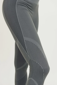 Mermaid Seamless High Waist Leggings - Charcoal