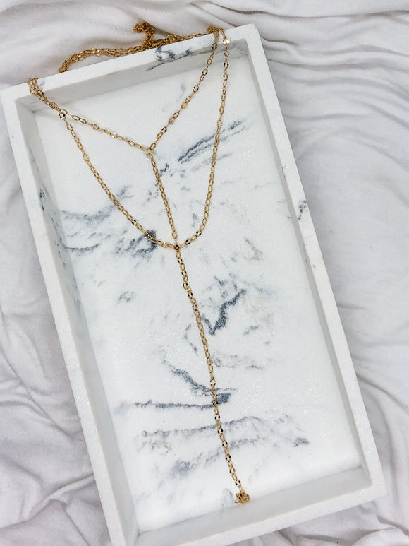 Long Lariat Y Necklace