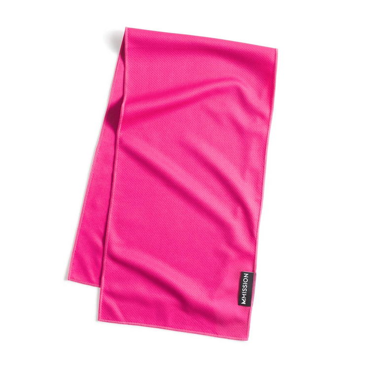 Pink Yarrow Premium On-the-Go Cooling Towel