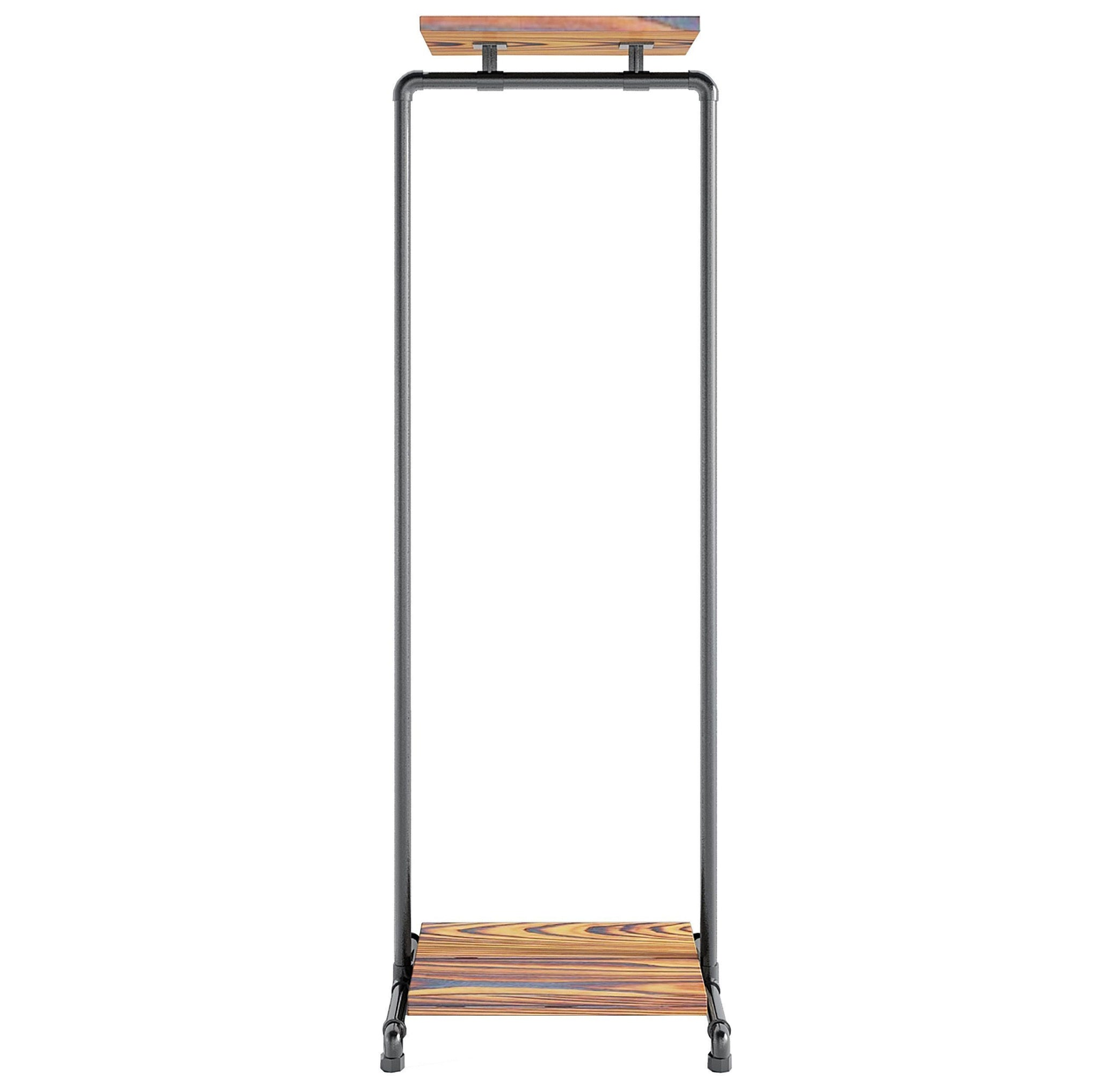 Ziito Clothes Rail A2 / 50 cm / Uden Wood Double Shelf Tøjstativ