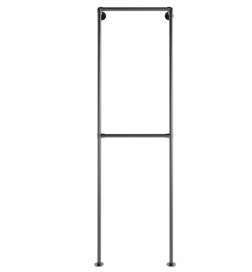Ziito Clothes Rail Aska / 50 cm Double Wall Tøjstativ
