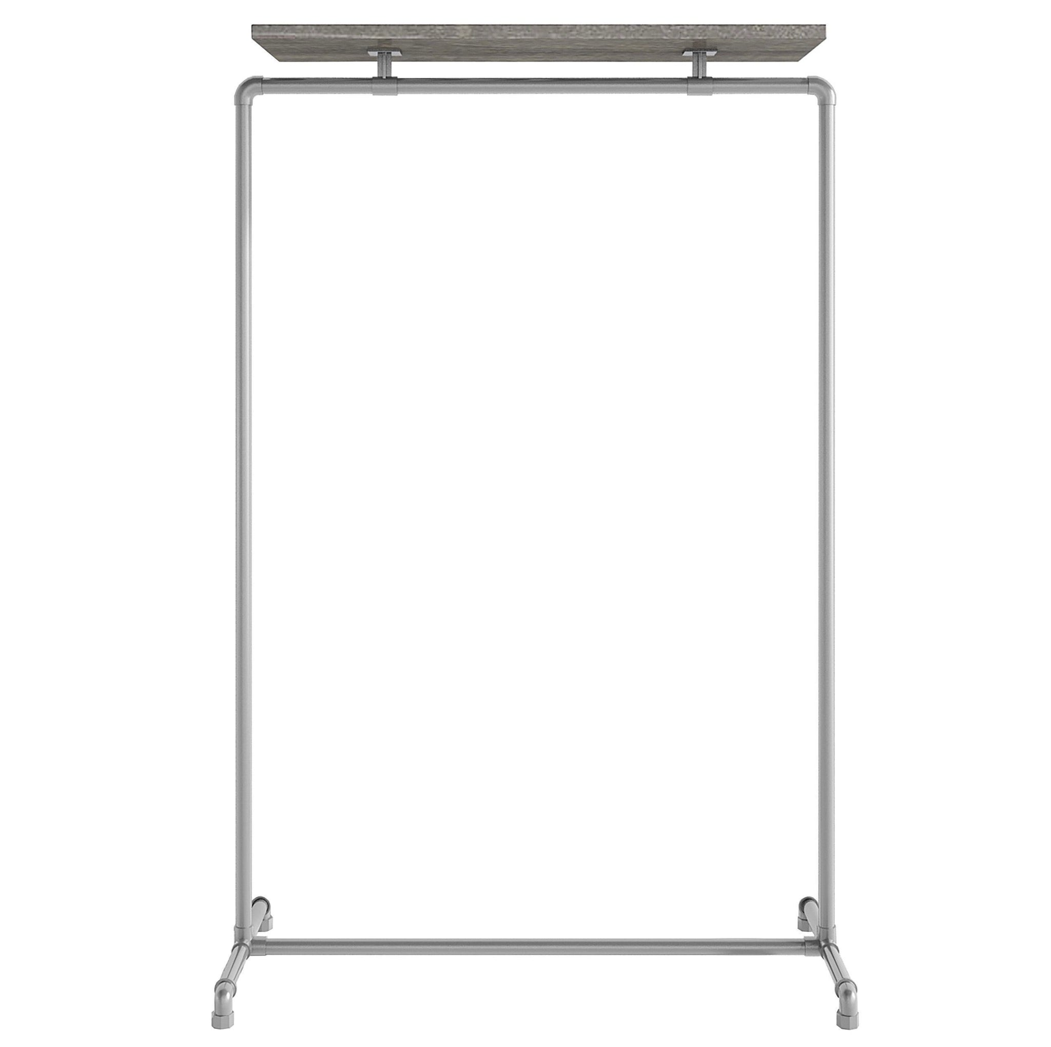 Ziito Clothes Rail B1 / 100 cm / Uden Wood Top Shelf Tøjstativ