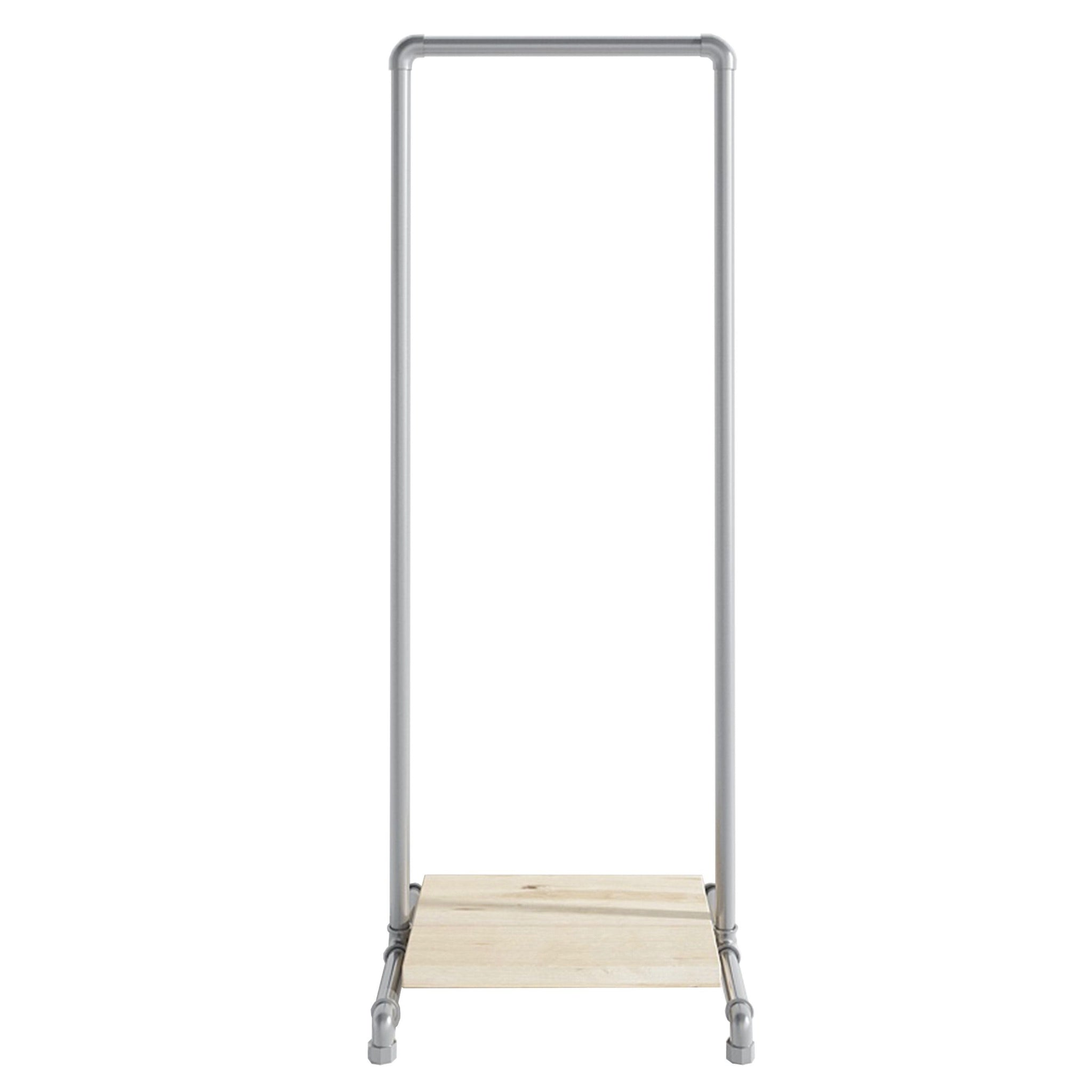 Ziito Clothes Rail C1 / 50 cm / Uden hjul Wood Low Shelf Tøjstativ
