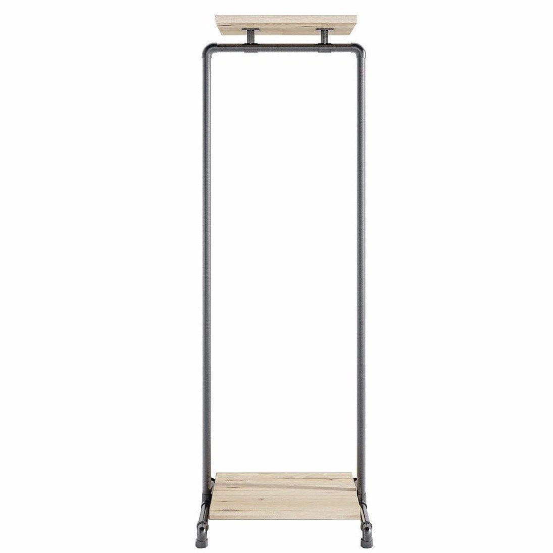 Ziito Clothes Rail C2 / 50 cm / Uden Wood Double Shelf Tøjstativ