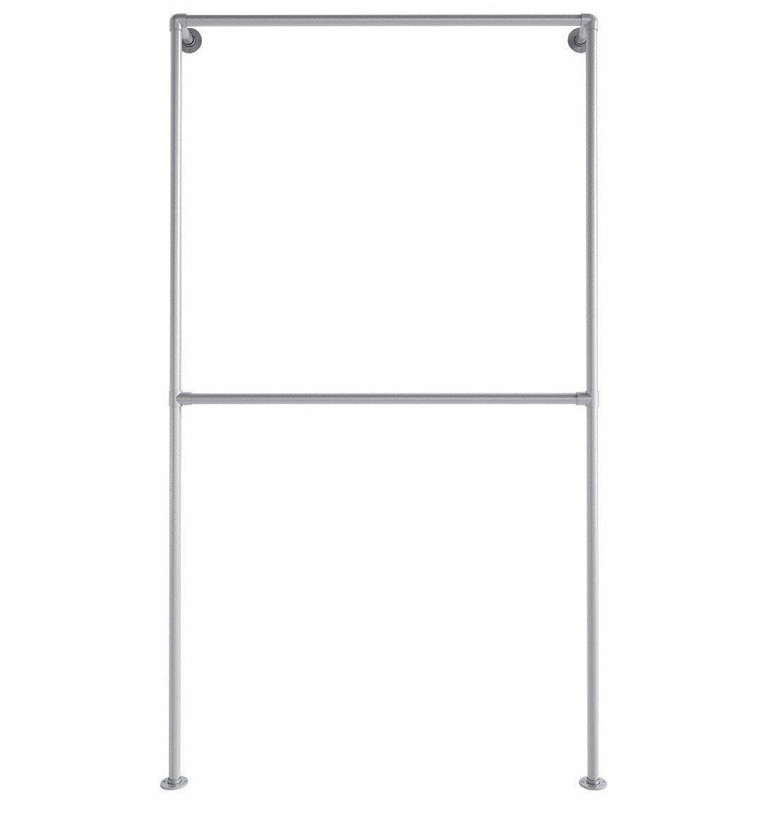 Ziito Clothes Rail E1dr / 100 cm Double Wall Tøjstativ