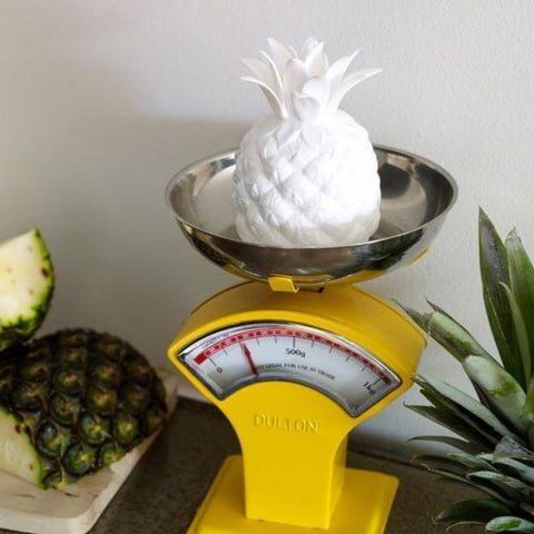 Pineapple trinket jar
