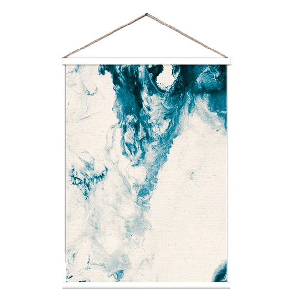 Australian gift, crystal, decor online shop: Sea wash canvas scroll