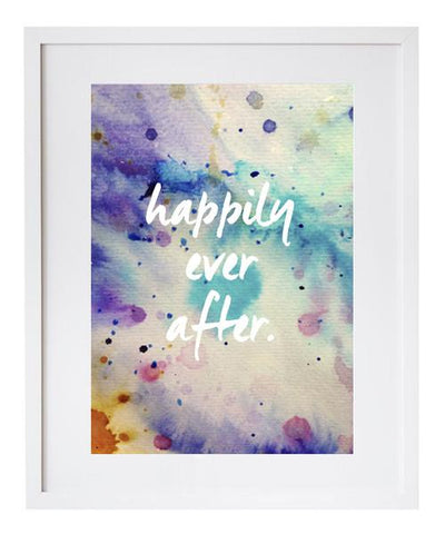 Art print - Happily ever after
