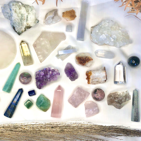 Goddess crystal bundle gift box