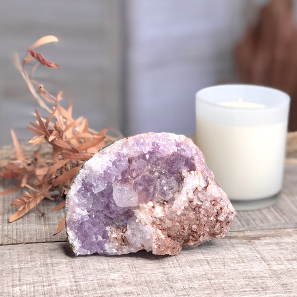 Australian gift, crystal, decor online shop: Amethyst A grade crystal druzy cluster from Morocco