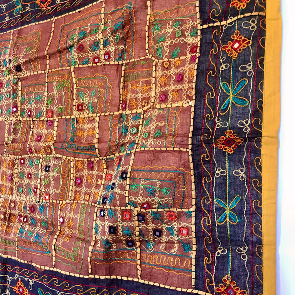 Indian embroidered tapestry B